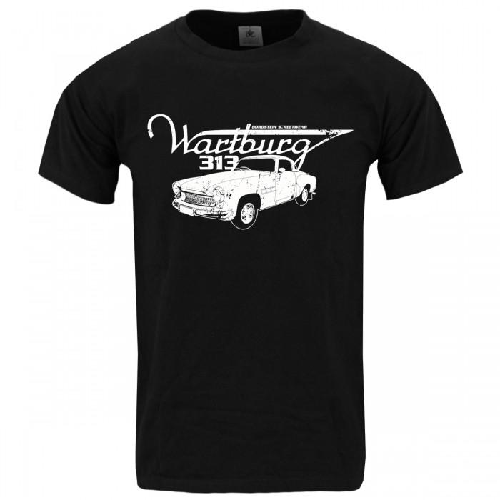 Wartburg 313 Herren T-Shirt Schwarz