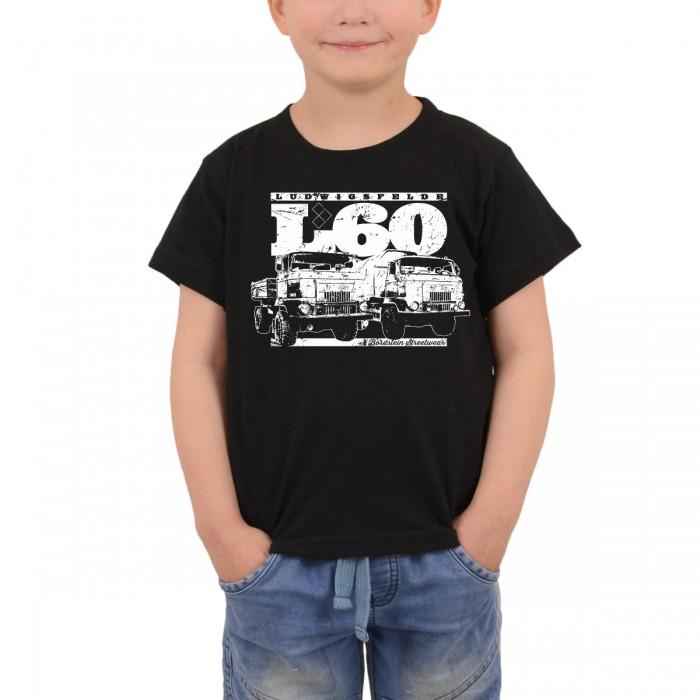 IFA L60 Kinder Shirt schwarz