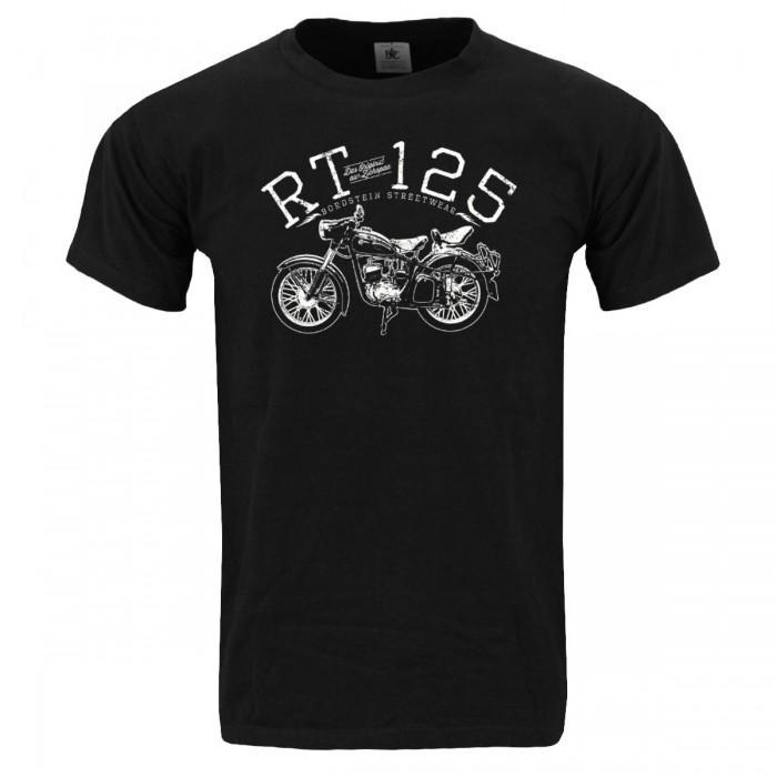 RT125 Männer T-Shirt Schwarz