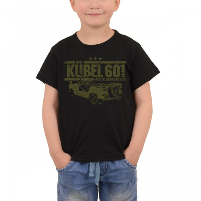 Trabi Kübel in Originalfarbe auf Kinder Shirts