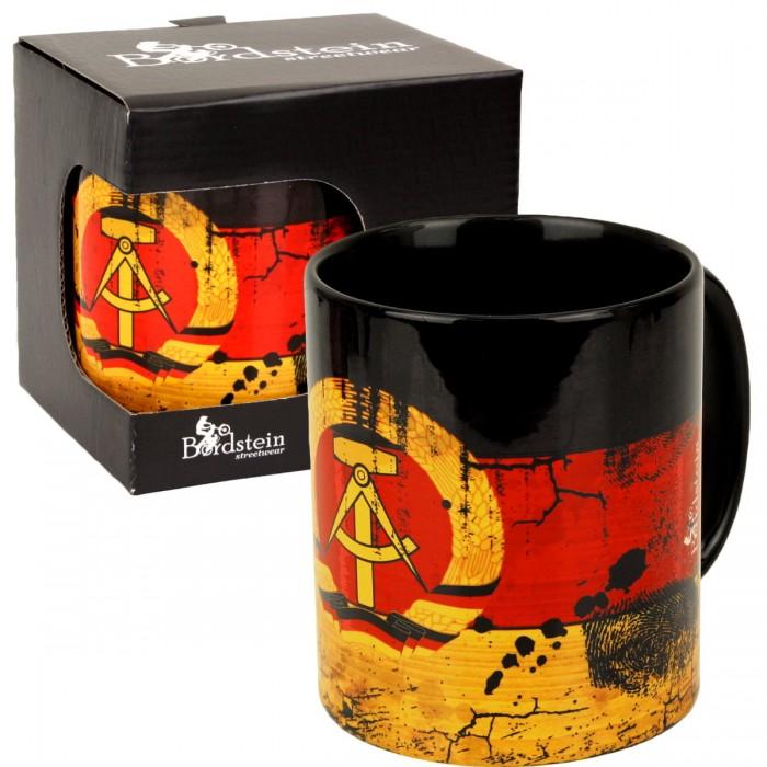 Kaffeebecher mit DDR Logo