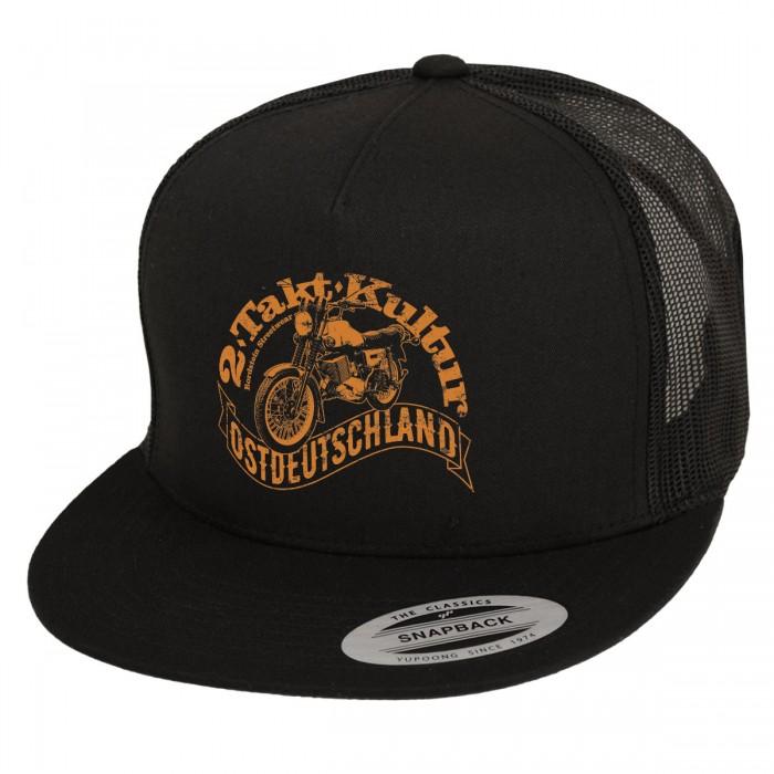 2-Takt Kultur Motiv auf klassischer Trucker-Mütze