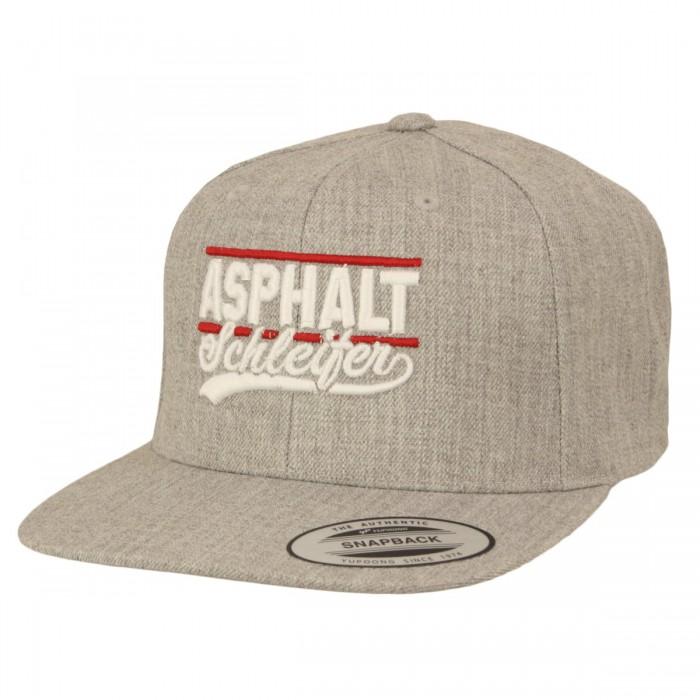 Asphaltschleifer Cap grey heather