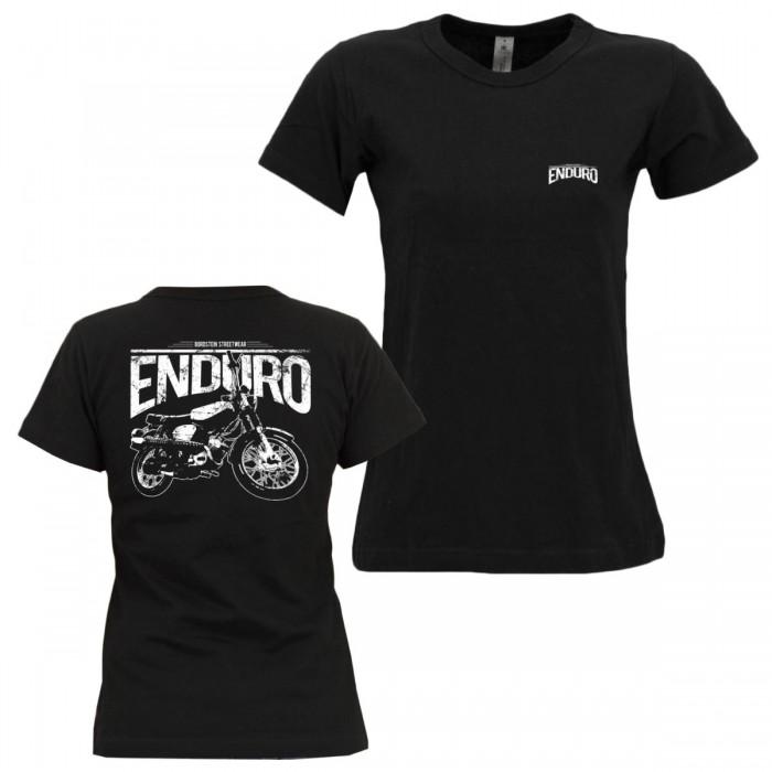 Bordstein Frauen T-Shirt S51 Enduro 2 Schwarz