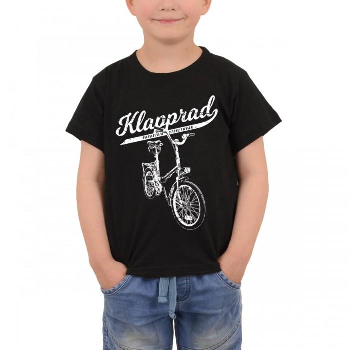 Klapp-Fahrrad auf Kinder Shirt