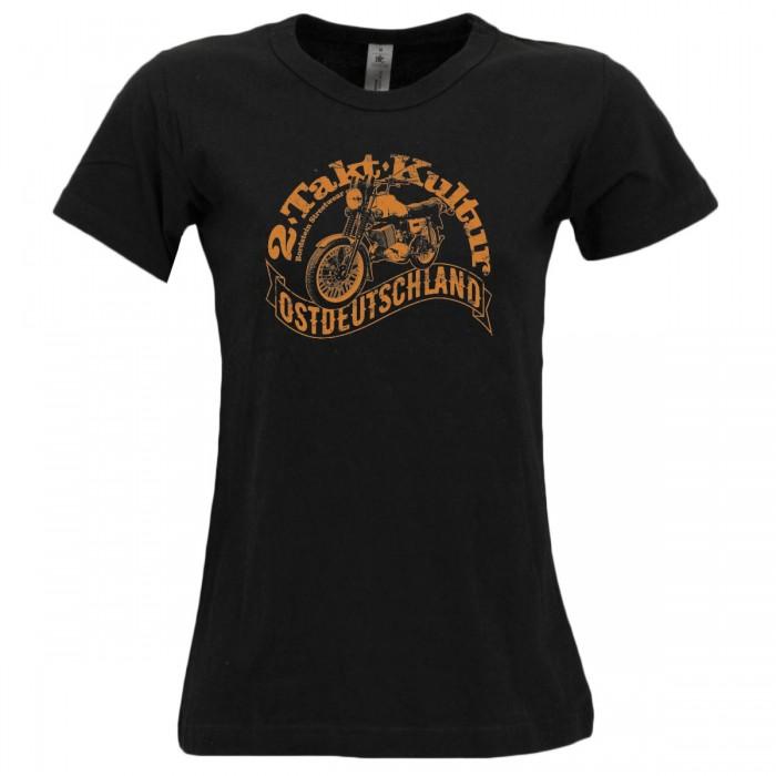 DDR Motorrad auf Girly Shirt