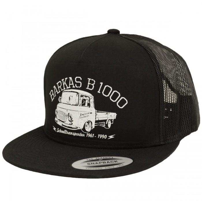 Trucker Cap Snapback B1000 Pritsche Schwarz