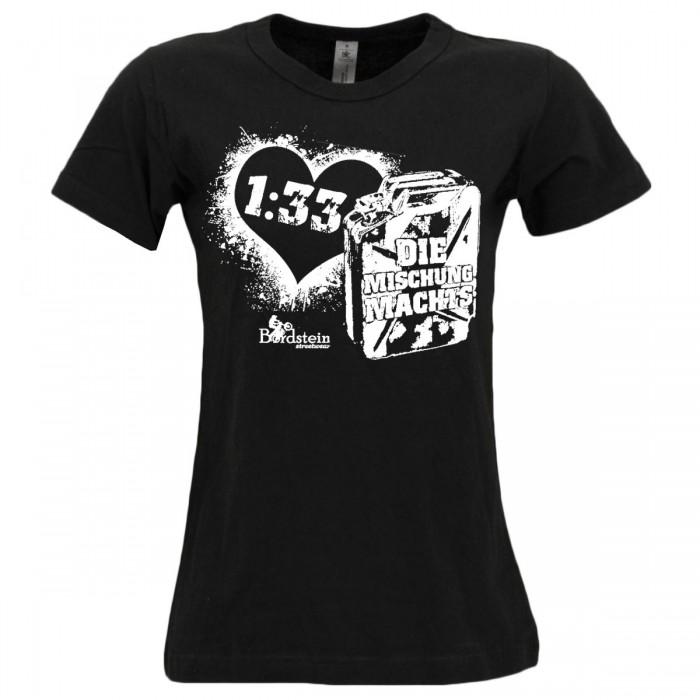 Girly Shirt mit 1:33 Mischung