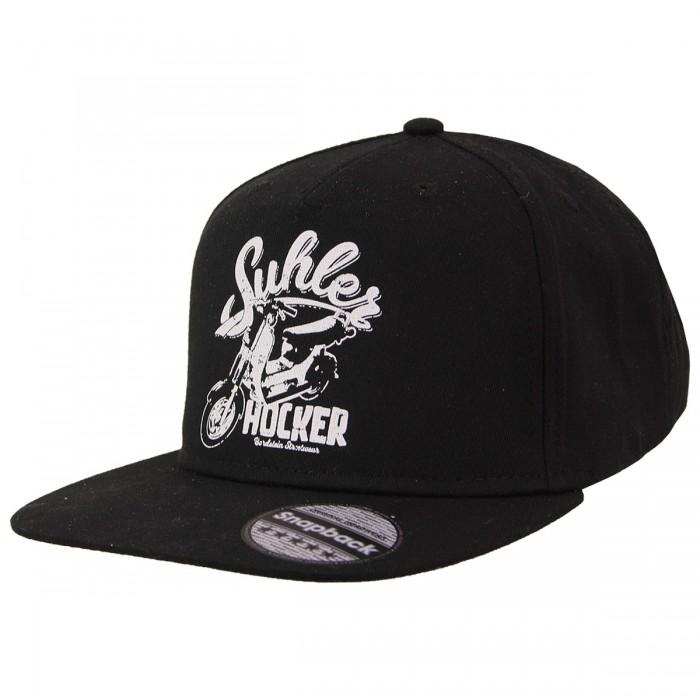 Snapback-Mütze mit Suhler Hocker Motiv