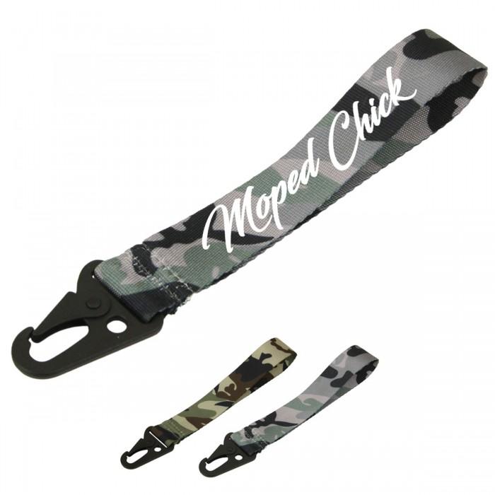 Moped Chick Schlüsselband Camouflage Verschiedene Farben