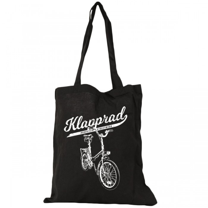 Bierbeutel mit Klapp-Fahrrad Motiv