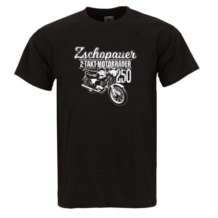 TS 250 Zschopauer 2 Takt Motorrad Herren Shirt