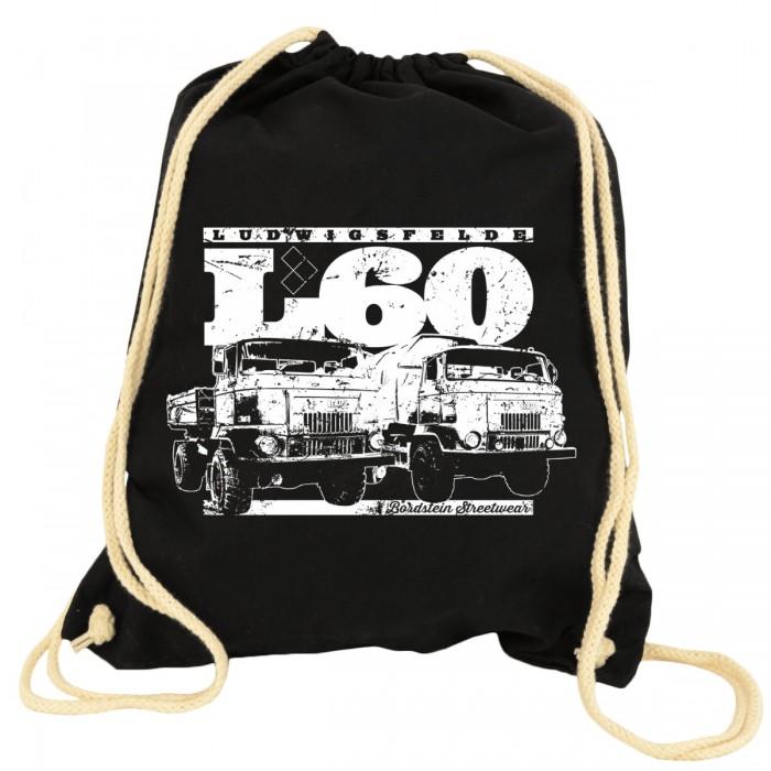 IFA L60 Turnbeutel schwarz