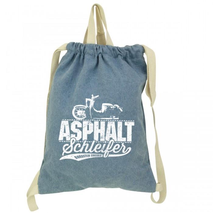 Asphaltschleifer Denim Gym Bag