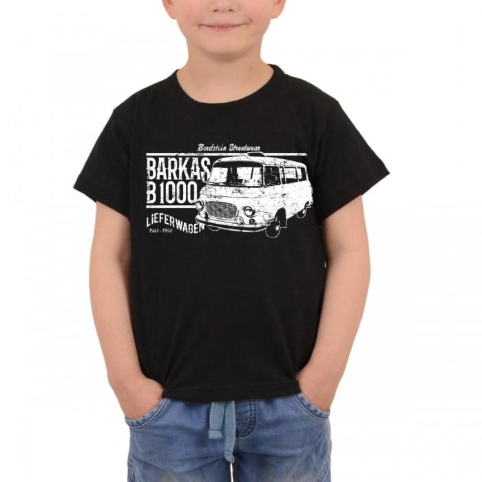 Barkas B 1000 Kastenwagen auf Kids Shirt