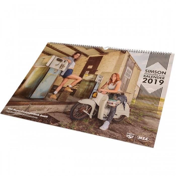 Offizieller Simson Kalender 2019 Vogelserie