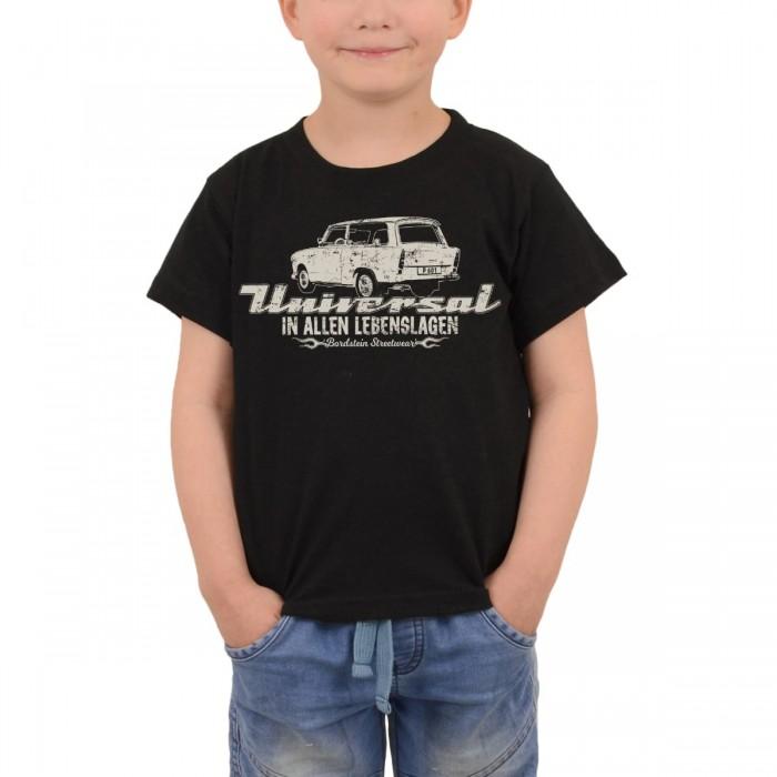 Trabi 601 Universal Kombi als Kinder T-Shirt