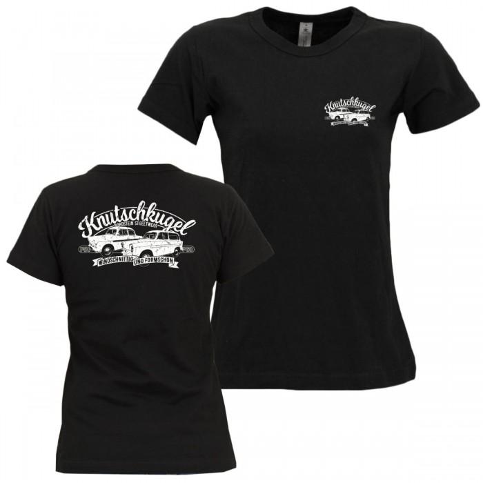 Trabbi Girly Shirt mit Brust- und Rückendruck