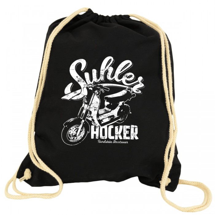 Bordstein Gym Bag Suhler Hocker Schwarz