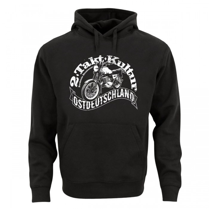 2Takt Kultur Ostdeutschland Kapuzensweatshirt