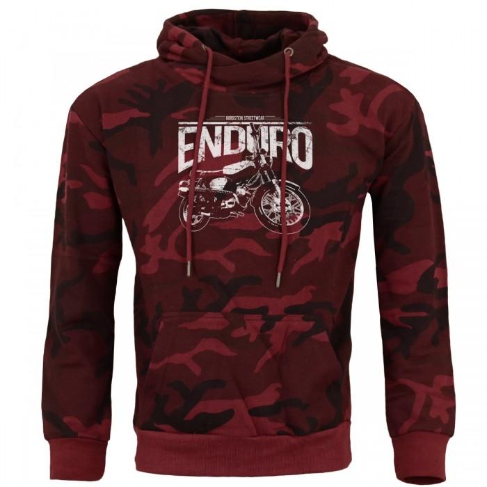 Camo Hoody mit Enduro Motiv