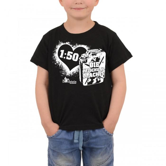 Kids Shirt mit Kanister Mischung