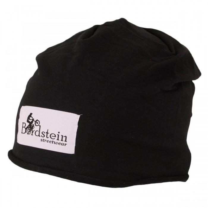Bordstein Beanie Mütze in schwarz