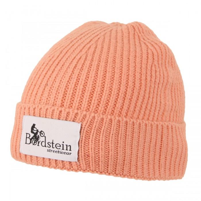 Klassische Wintermütze mit Umschlag und aufgenähtem Bordstein Streetwear Label