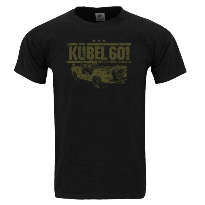 Trabi 601 Kübel Herren T-Shirt Schwarz Oliv