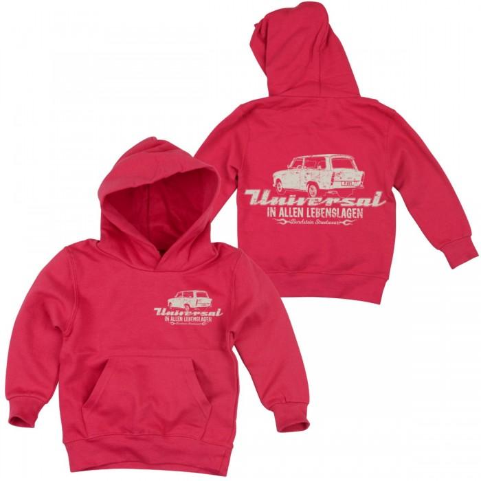 Trabbi 601 Kombi Hoody pink