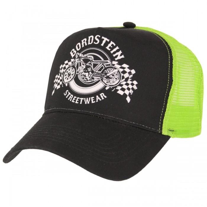 Bordstein Racing Trucker Cap Neon Grün
