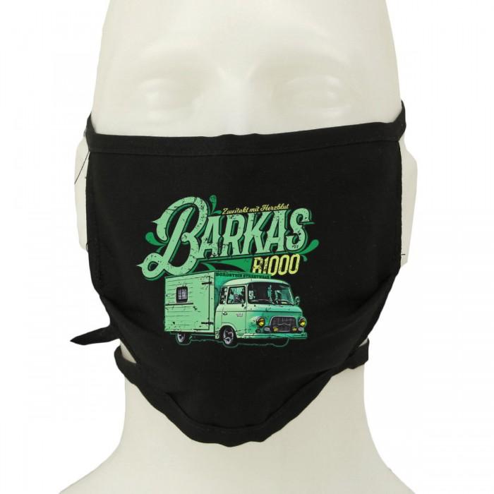 Mund-Nasen-Maske mit Barkas Motiv