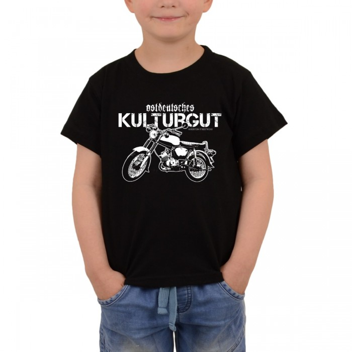 Bordstein Kinder T-Shirt Ostdeutsches Kulturgut S 51 Schwarz