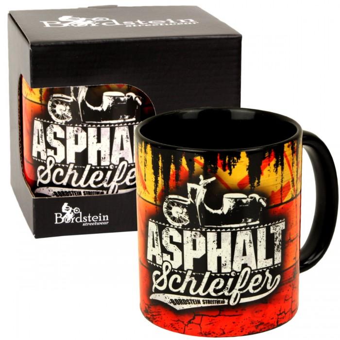 Kaffee Tasse Asphaltschleifer Schwalbe