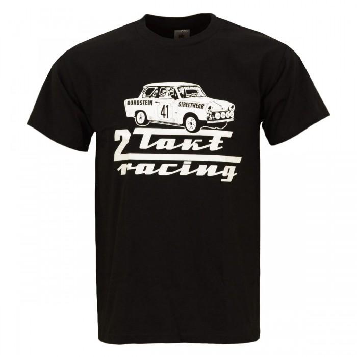 Bordstein Herren T-Shirt 2 Takt Racing Schwarz