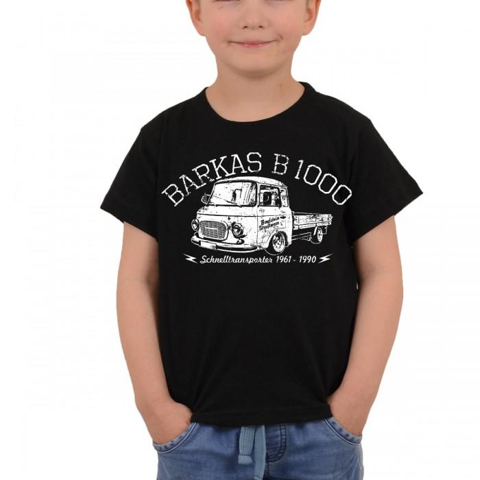 Kinder T-Shirt B 1000 Pritsche Schwarz