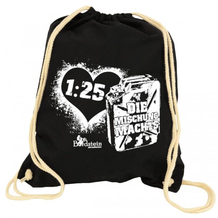 1:25 Rucksack Beutel schwarz