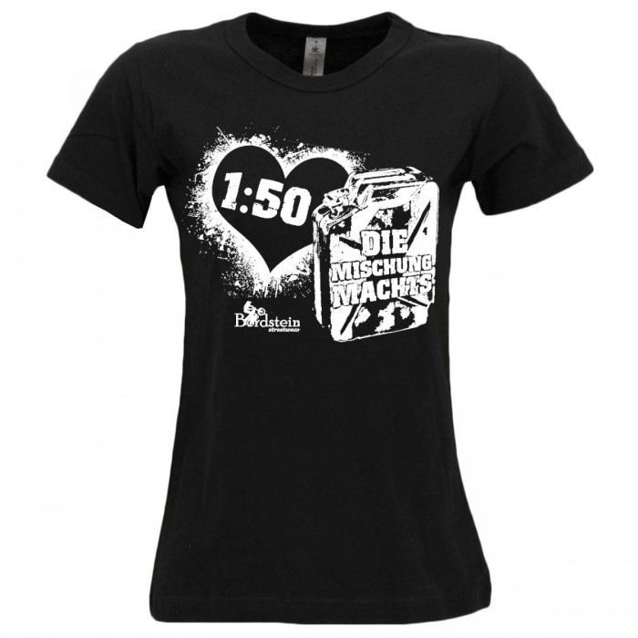 2Takt Mischung als Damen Shirt