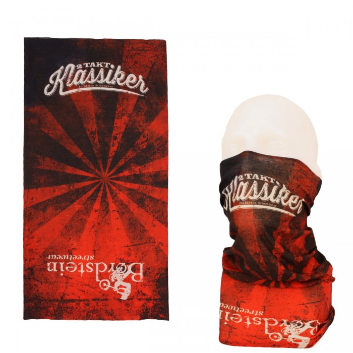 Bordstein Streetwear Schlauchschal in rot