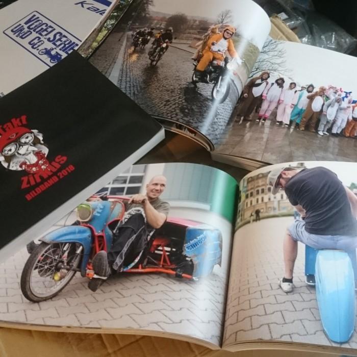 2 Takt Zirkus Simson Community Bildband 2018 Collage