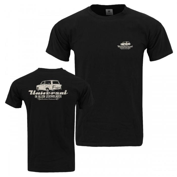 Herren Shirt mit Brust- und Rückendruck