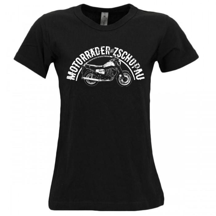 Bordstein MZ ETZ 150 Frauen T-Shirt schwarz