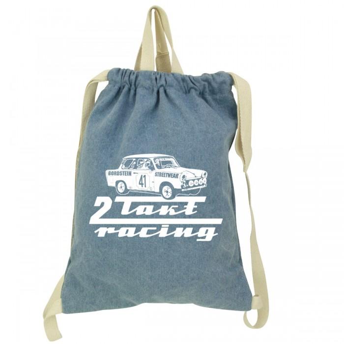 Trabbi 601 Motiv auf Denim Gym Bag