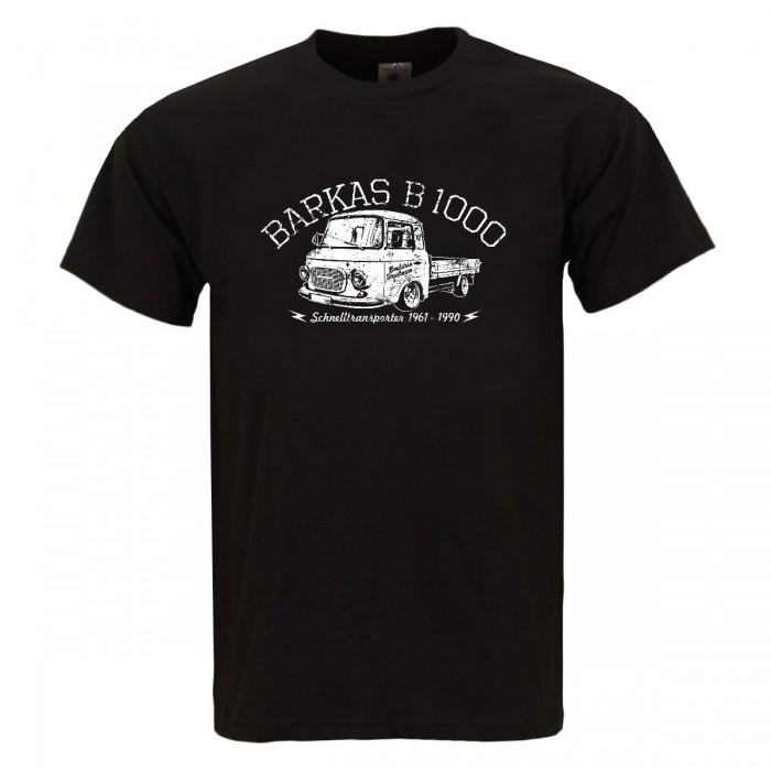 Bordstein Männer T-Shirt Barkas B 1000 Pritsche Schwarz